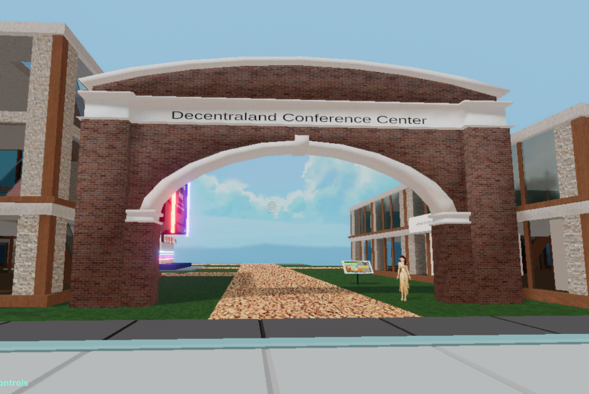 Decentraland Conference Center Grand Opening Feb 29, Mar 1